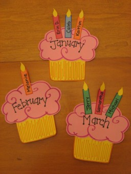cupcakes cumplañeros