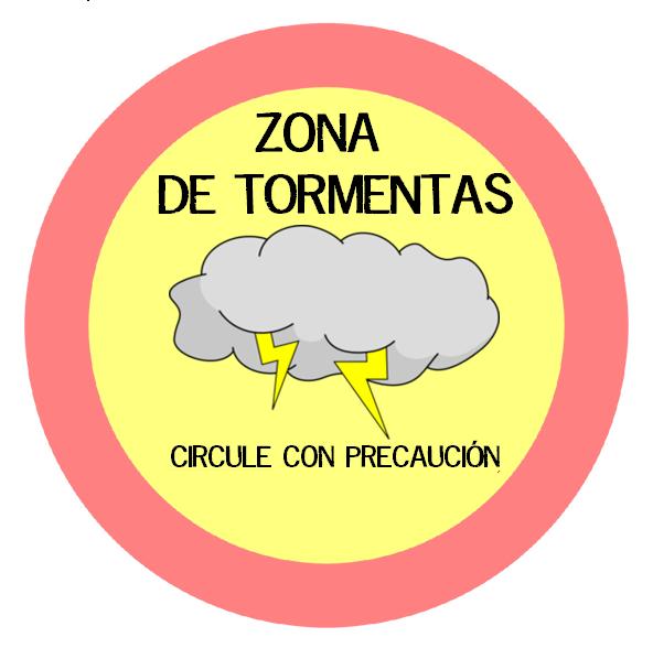 zona de tormentas