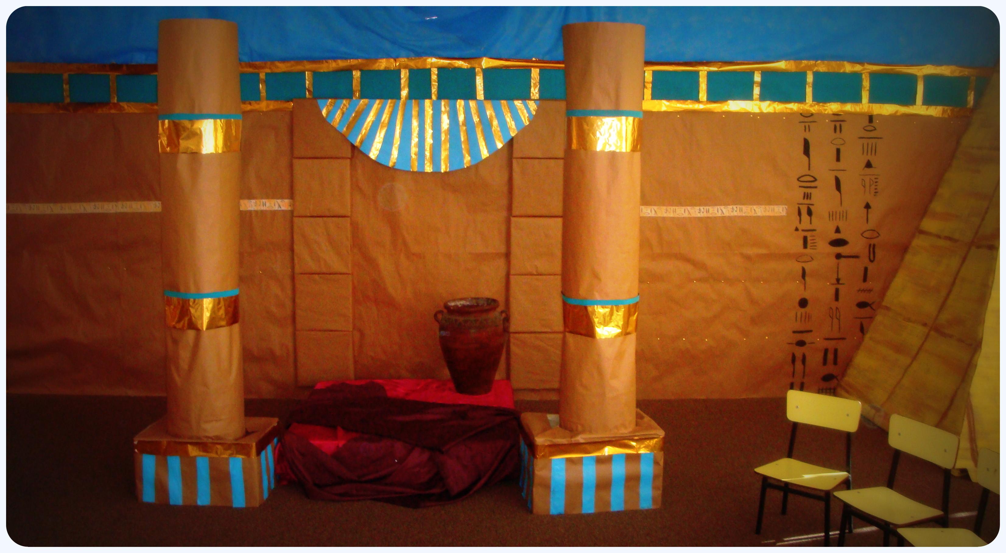 Decoraci n egipcia primariolandia for Decoracion egipcia